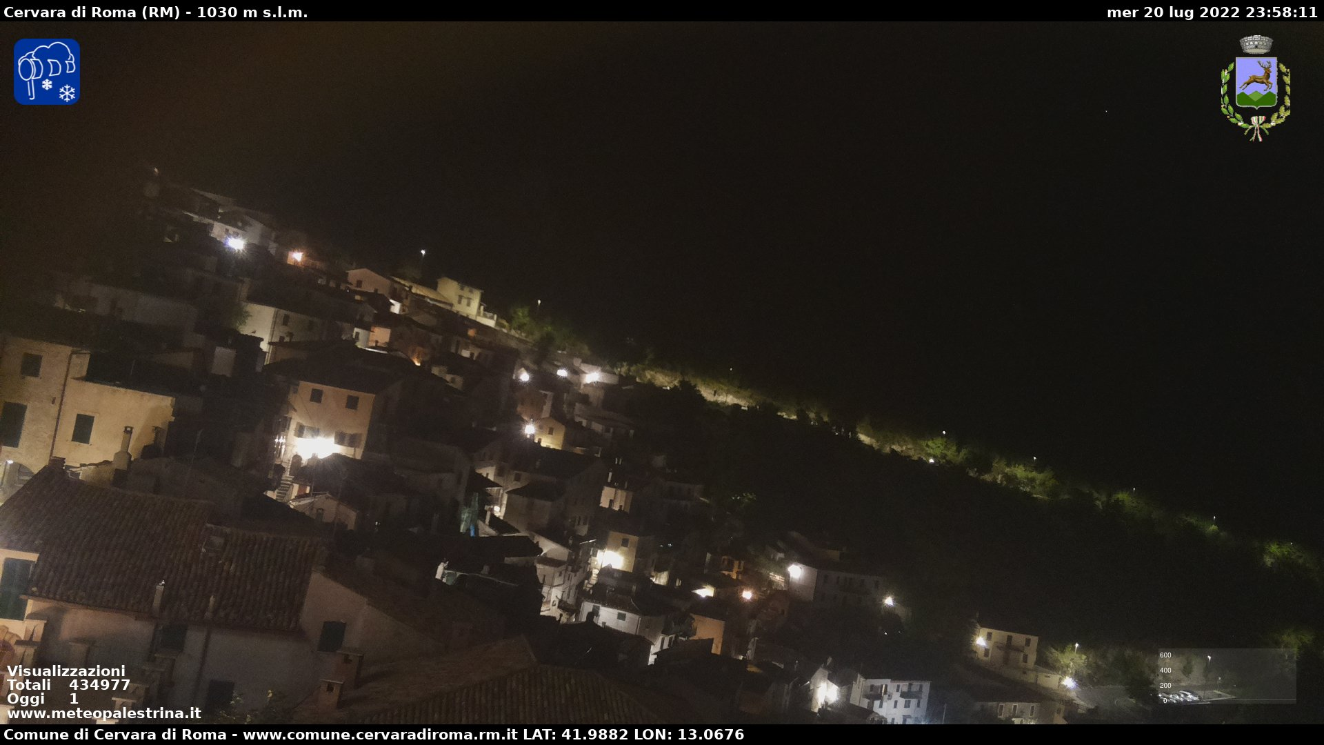 Webcam Cervara di Roma